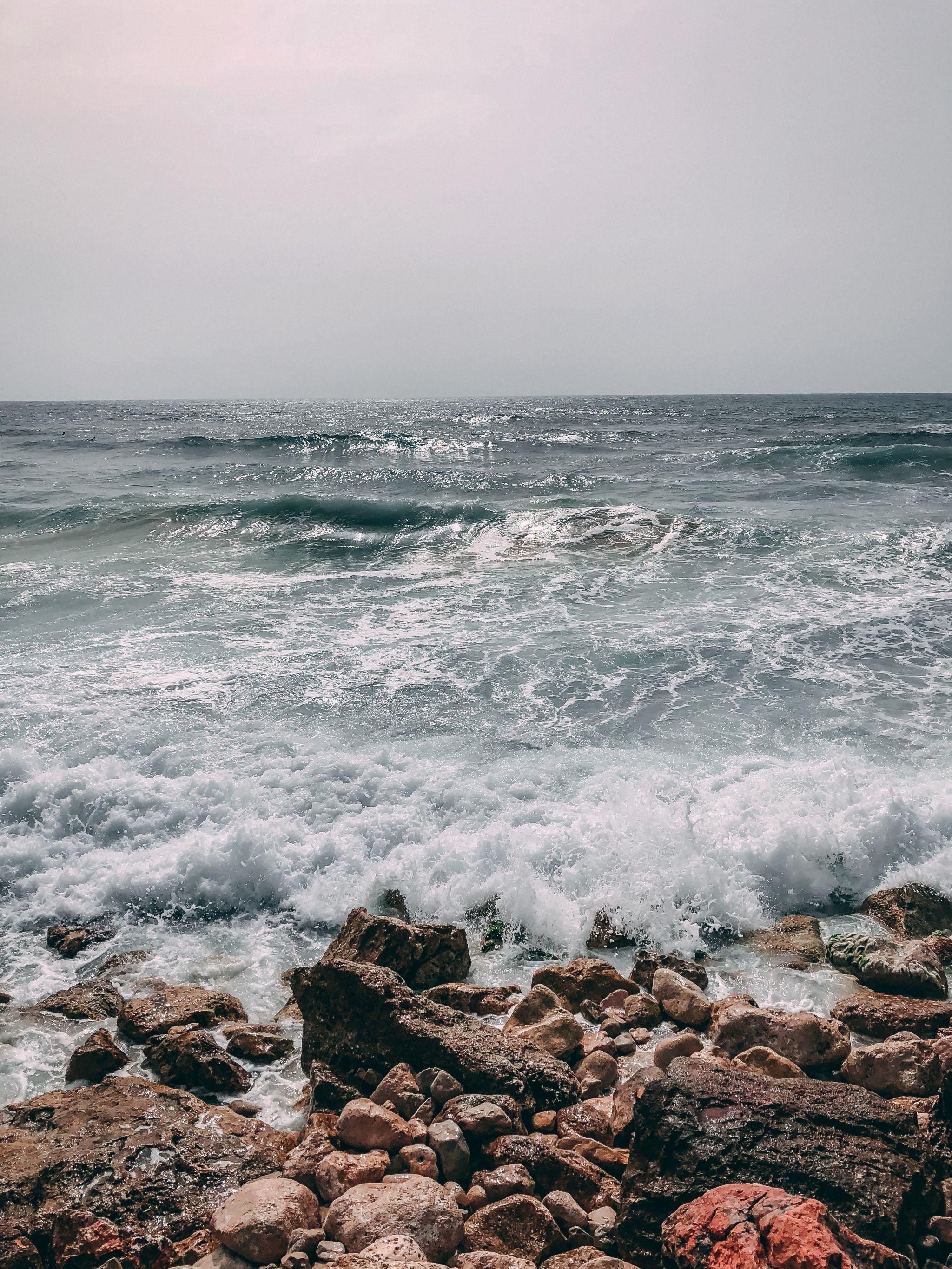 Tel Aviv Izrael moře