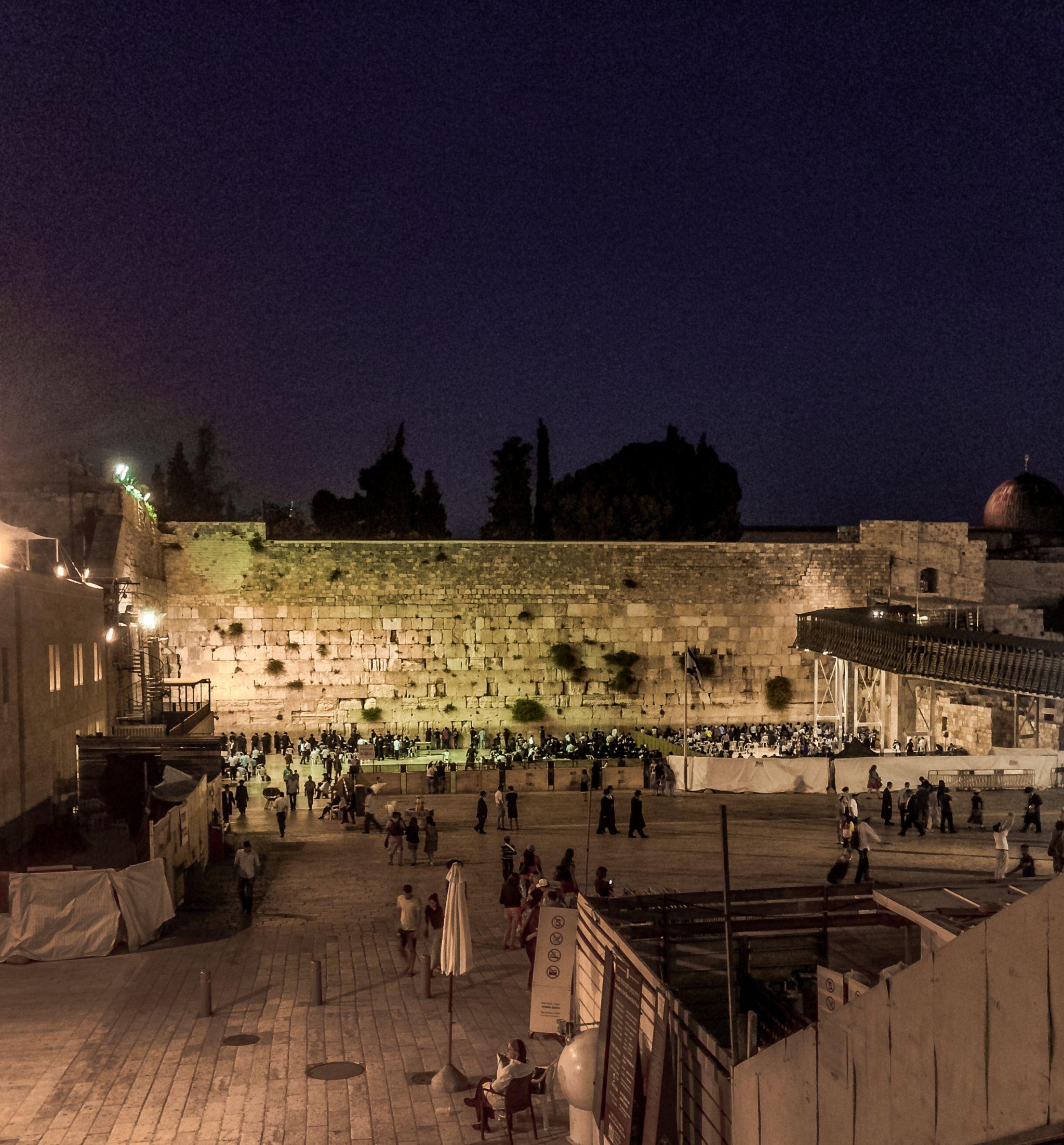 Jeruzalem, Zeď Nářků Izrael
